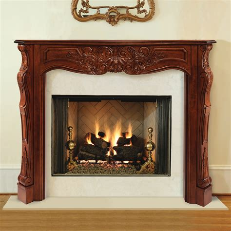 a fireplace mantel pearl mantels 495 72 auburn arched 72 inch