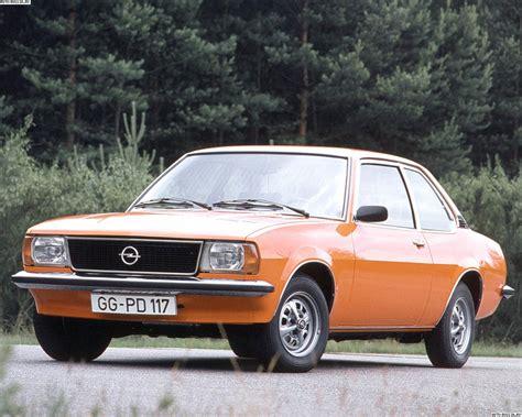 Opel Ascona B цена технические характеристики фото