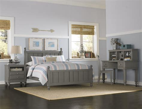 full house bedroom ne kids lake house full panel bed with chamfered posts and