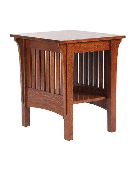 Unfinished Bedroom End Tables Bedroom Furniture Mission Style Decobizz