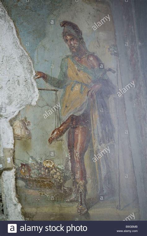 pompei casa dei vettii italy cania pompeii casa dei vettii murals priapos