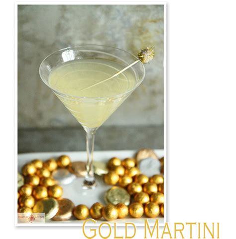 gold martini cocktail olympic medal vodka drink citrus