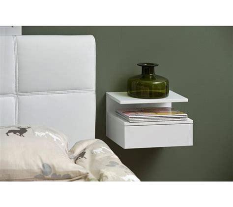 table de nuit suspendue chevet suspendu ashlan blanc new apt nightstand home