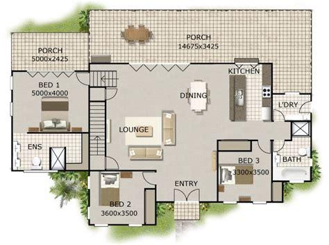 affordable open floor plans open plan 3 bedroom home design perth house builders hillside plan house plans for sloping land