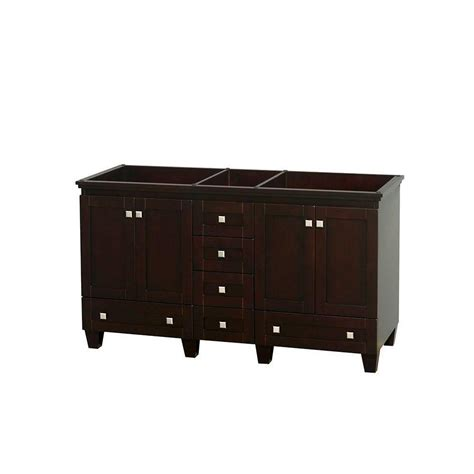 60 Vanity Cabinet by Foremost Naples 60 In W Bath Vanity Cabinet Only In Warm