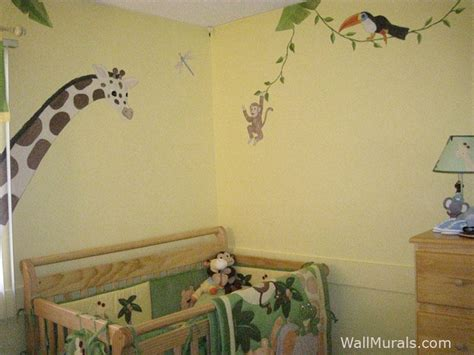 jungle themed wall stickers jungle animal wall decals