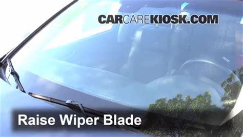 how make cars 2006 infiniti m windshield wipe control front wiper blade change infiniti m35 2006 2010 2008 infiniti m35 3 5l v6