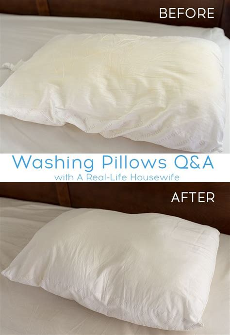 how to clean bed pillows 28 images how to wash and best 25 whiten pillows ideas on pinterest wash pillows