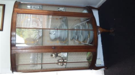 china cabinet with legs antique curved glassed china cabinet with 3