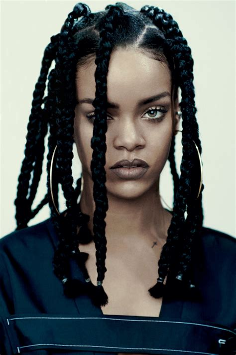 Rihanna Is My New Icon by The Iconic Rihanna For I D Magazine Clicks By Richy