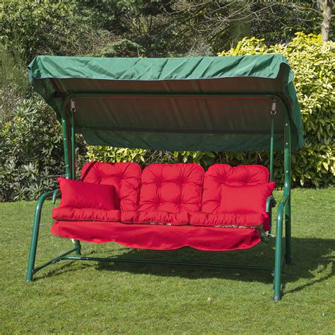 replacement cushions for swing chair garden 3 seater replacement swing seat hammock cushion set