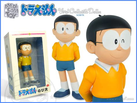 Bandai Shf Nobita Doraemon Set medicomtoy vinyl collectible dolls doraemon nobita