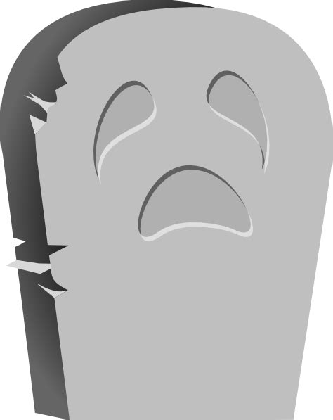 tombstone clipart tombstone bright clip at clker vector