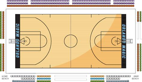 amway center floor plan courtside ultimate seating amway center