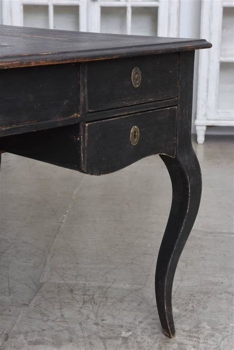 large antique swedish writing desk early 19th century at