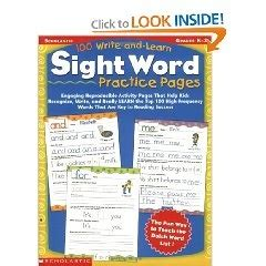 100 write and learn sight word practice pages 36 best images about esl on worksheets for