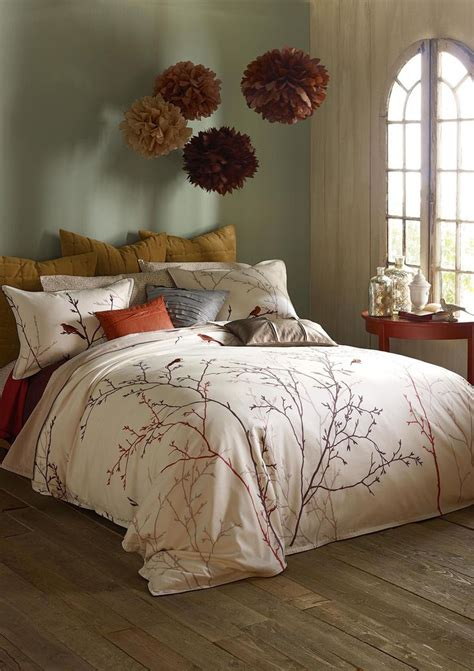 romantic sexuality in bedroom the burgundies add a romantic autumn feel to this rustic
