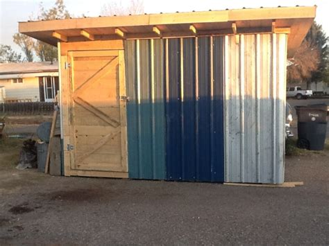 Building A Shed From Recycled Materials by How To Build A Garden Shed Out Of Pallet Wood