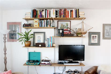 open shelving living room diy open shelving living room unit