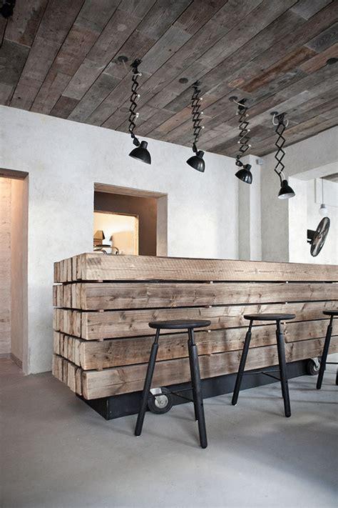 host restaurant rustic scandinavian interior  norm