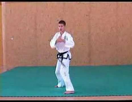 itf taekwondo pattern yul gok itf taekwon do patterns 7 of 14 yul gok youtube