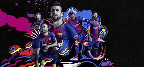 Nike F C Barcelona camisas do fc barcelona 2017 2018 nike mantos do futebol