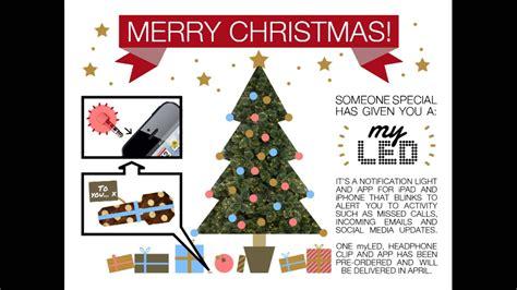myled christmas ecard video youtube