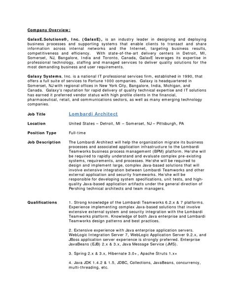 java architect resume format java architect resume pdf sidemcicek