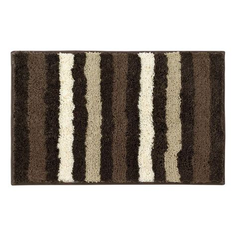 home depot bathroom rugs bathtopia dmitri chocolate 16 in x 24 in bath rug