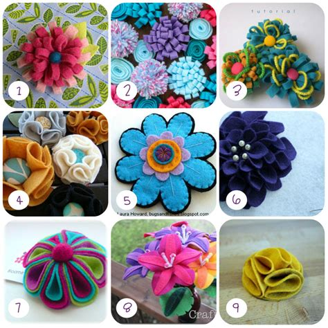 come fare i fiori di pannolenci 9 tutorial di fiori in feltro