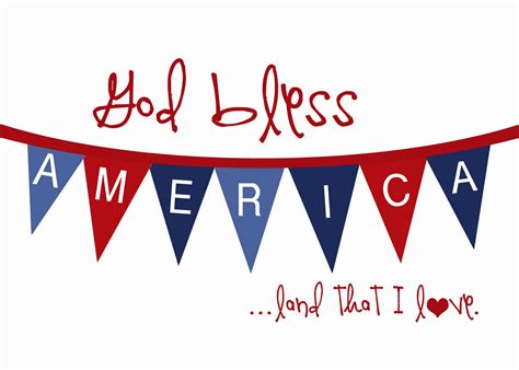 free printable usa banner 4th of july patriotic printables an extraordinary day