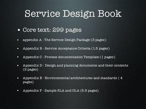 itil service design document template itil service design images