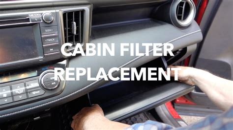 toyota air filter how to replace toyota rav4 cabin air filter