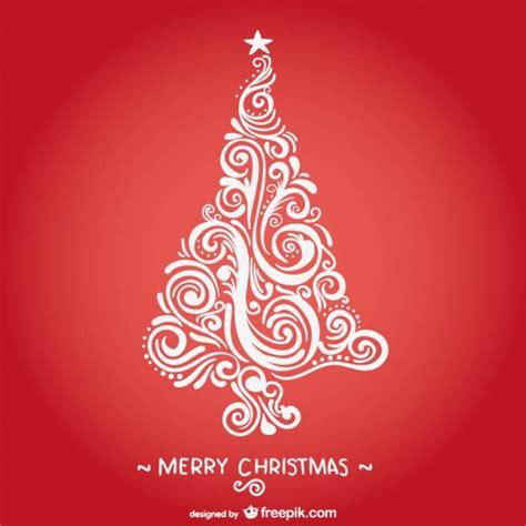 arbol blanco navidad tarjeta de navidad con 225 rbol blanco vintage descargar