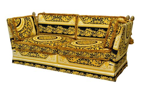 Sofa Versace versace orleans framed sofa purchased through the versace