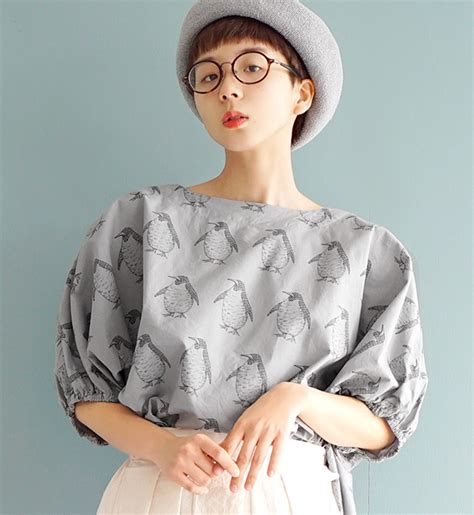 Blouse Penguin e zakkamania stores a blouse penguin grand march the
