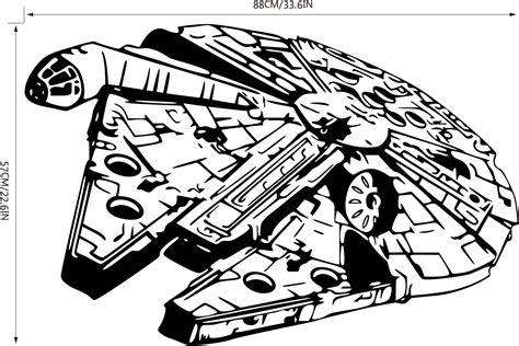 star wars millennium falcon coloring page drawn falcon star wars pencil and in color drawn falcon