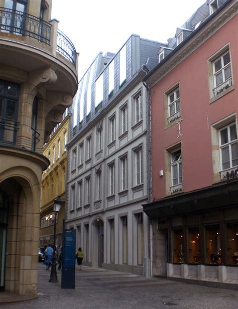 bureau des non r駸idents luxembourg architecte moreno liste des projets imagin 233 s par notre