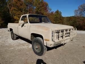 Chevrolet Diesel Truck For Sale 1986 M1008 Cucv Chevy 1 Ton Truck Diesel 6 2 Sold