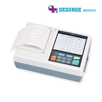 Mesin Ekg jual ekg harga alat electrocardiogram jual mesin ekg 12 channel 6 channel 3