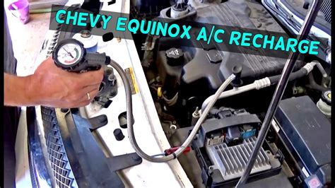Service Manual How To Put Refrigerant In A 2006 Chevrolet