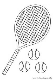 what color is a tennis tennis coloring pages