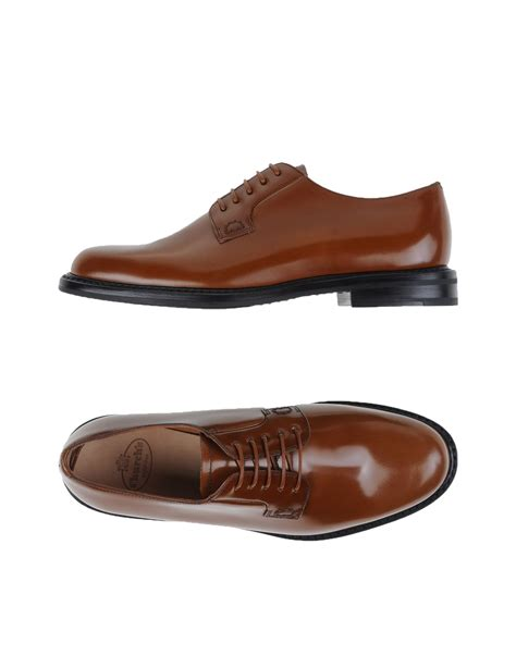 church s lace up shoes in brown for lyst