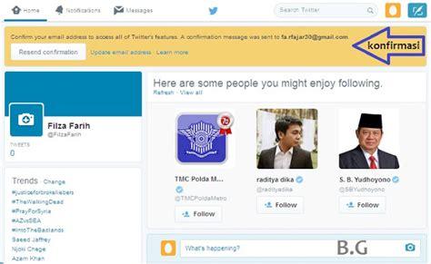 cara membuat twitter terbaru cara buat akun twitter terbaru lengkap dan detail bergambar