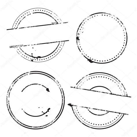 postage st template conjunto de vector muestra sellos sellos redondos
