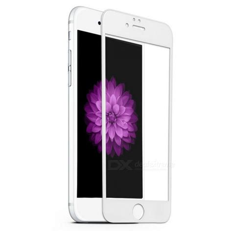 Tempered Glass Violet dazzle colour violet tempered glass screen protector for iphone 6 6s free shipping dealextreme