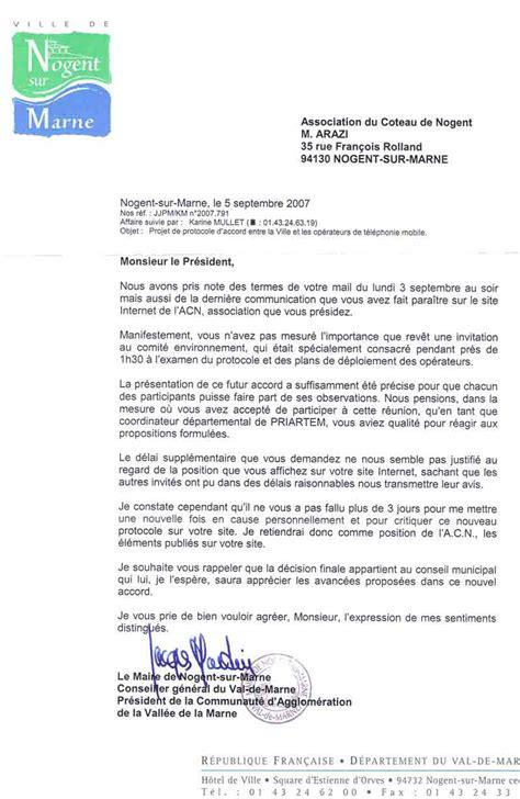 Lettre De Motivation Par Mail Candidature Spontanée Le Maire Refuse 224 L Acn Le Temps N 233 Cessaire Pour 233 Tudier