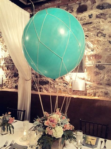 19 Cute And Sweet Balloon Centerpieces For Baby Showers Air Balloon Table Centerpieces