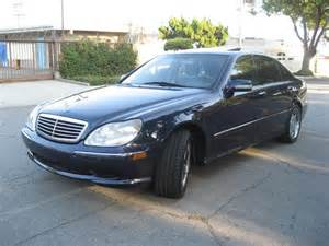 2000 Mercedes S Class S500 2000 2001 Mercedes W220 W215 S500 Anti Theft Alarm