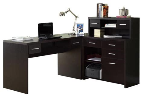 right corner computer desk left or right facing corner computer desk transitional